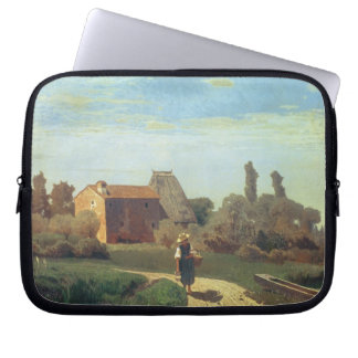 May Morning (oil on canvas) Computer Sleeve
