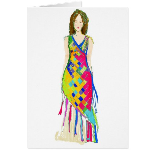 May Pole Greeting Cards