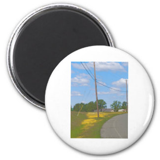 May Pole 2 Inch Round Magnet