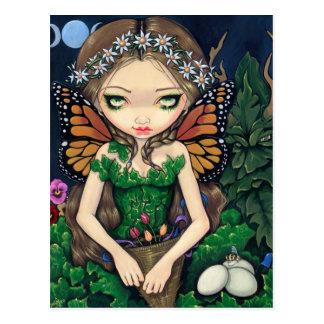 """""""May Queen"""" Postcard"""