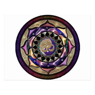 May Surprise Mandala Postcard