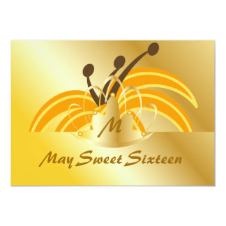 May Sweet Sixteen-Customize 5x7 Paper Invitation Card