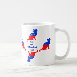 May the best animal...Cat Classic Mug