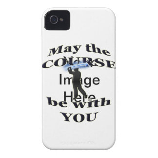 May the course be with you Case-Mate iPhone 4 case