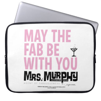 May the FAB ask with you - laptop case Laptop Sleeves