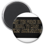 May the Force Be 2 Inch Round Magnet