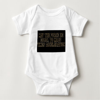 May the Force Be Baby Bodysuit