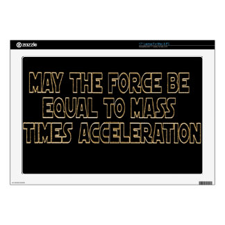 May the Force Be Laptop Decal