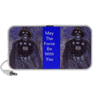 (May the force be with you Doodle) Portable Speakers