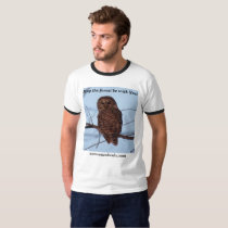 May the Forest be With You!  barred owl version T-Shirt