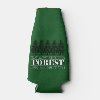 May the Forest Be With You Bottle Cooler