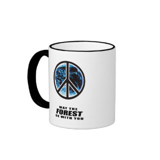 May the Forest be with you Ringer Mug