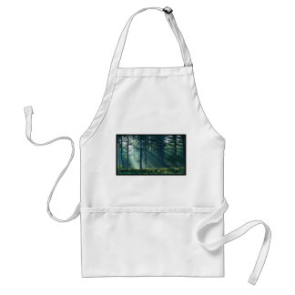 may the forest be with you, spoof adult apron