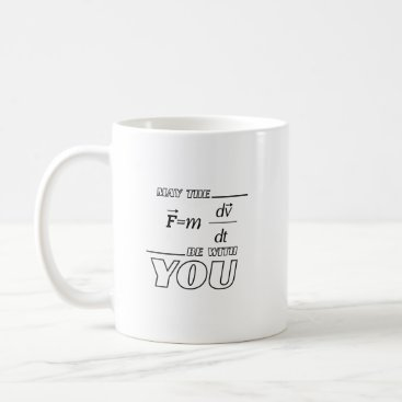 de_look May the Formula Be with You Engineer Funny Physics Coffee Mug
