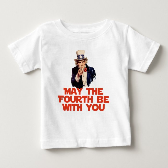 May The 4th Be With You Merchandise: May The Fourth Be With You Baby T-Shirt