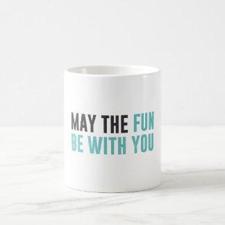 May the fun be with you -  good omens coffee mug