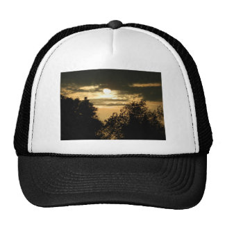 May the Glory of God shine upon you sunset photo Hat