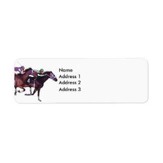May The Horse Be With You!, Address 3, Address ... Label