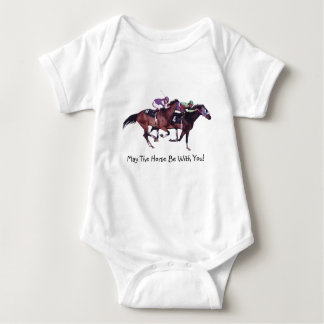 May The Horse Be With You! Baby Bodysuit