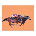 """May The Horse Be With You! 4.25"""" X 5.5"""" Invitation Card"""