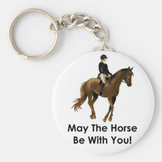 May the horse be with you keyring