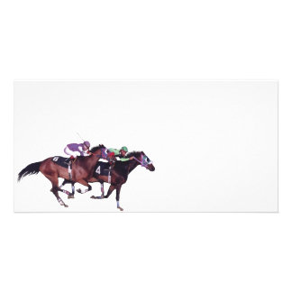 May The Horse Be With You! Photo Card