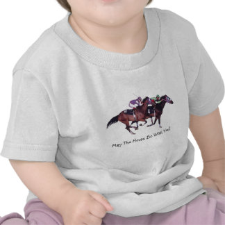 May The Horse Be With You! T-shirts