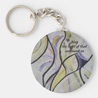 May the light...Keychain Keychain