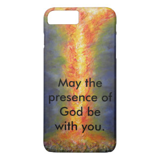 May the presence of God be with you. iPhone 8 Plus/7 Plus Case
