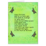 May the road rise up to meet you - Irish poem Cards