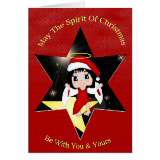 May The Spirit Of Christmas.. Card