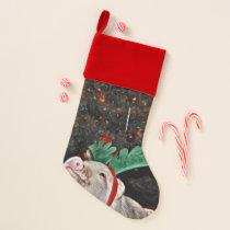 May the spirit of Christmas, Pig Christmas Stocking
