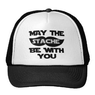May the Stache Be With You Trucker Hat