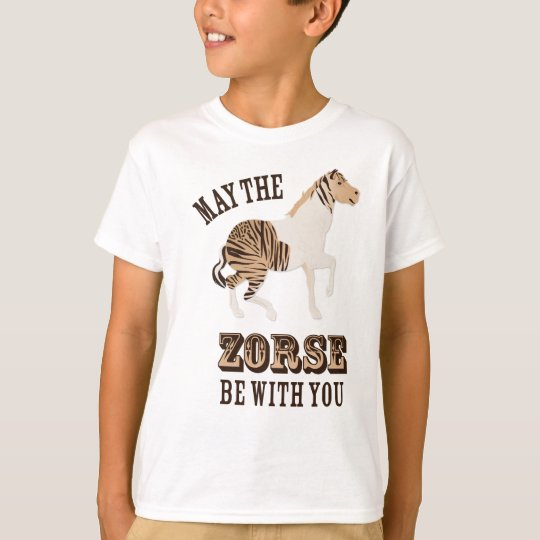 May the Zorse be with You T-Shirt