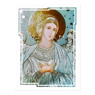 May there always be an angel beside you CC0772 Postcard
