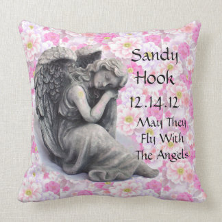 May They Fly With The Angels Throw Pillow
