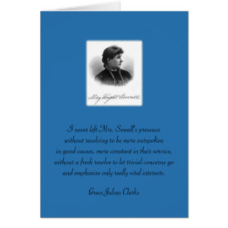 May Wright Sewall-You Inspire Me Stationery Note Card