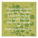 May you always have walls for the ... - Customized Posters