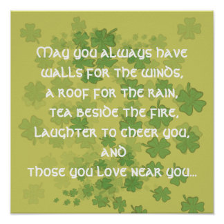 May you always have walls for the ... - Customized Poster