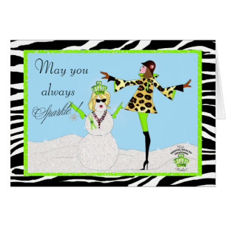 May You Always Sparkle! / Mental Health Diva Cards