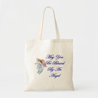 May You Be Blessed By An Angel Tote Bag