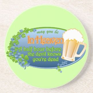 May You Be In Heaven Sandstone Coaster