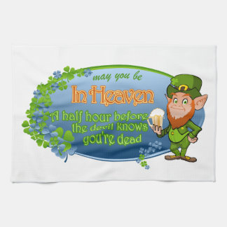 May You Be In Heaven (Ver 2) Kitchen Towel
