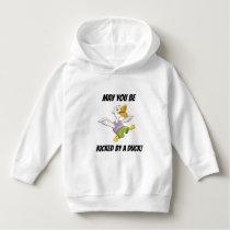 May You be Kicked by Duck! Ukrainian Toddler Hoodi Hoodie