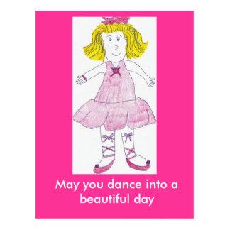 May you dance into a beautif... postcard
