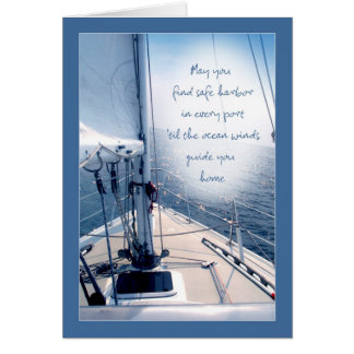 May you find safe harbour card