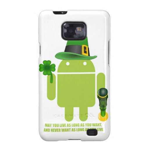 May You Live As Long As You Want Irish Android Samsung Galaxy Cover