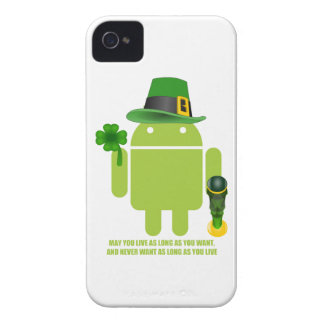 May You Live As Long As You Want Irish Bug Droid Case-Mate iPhone 4 Case