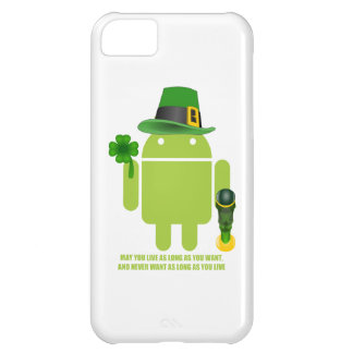 May You Live As Long As You Want Irish Bug Droid iPhone 5C Cover