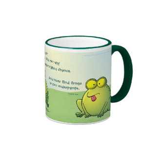 May You Never Find Frogs In Your Underpants Ringer Mug
